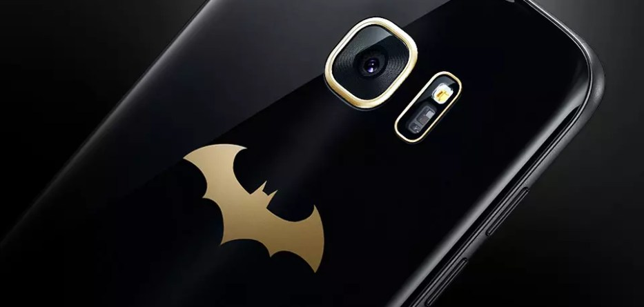 Samsung Galaxy S7 edge Injustice Edition back