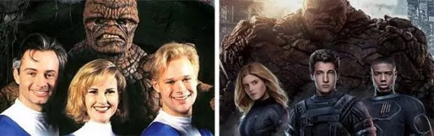 Fantastic Four 1994 and 2015