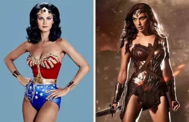 Wonder Woman 1975 and 2016