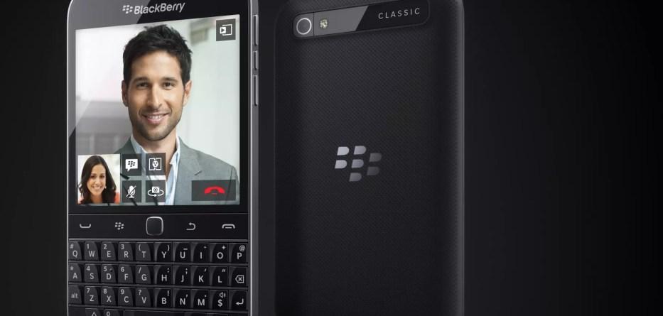 blackberry classic end
