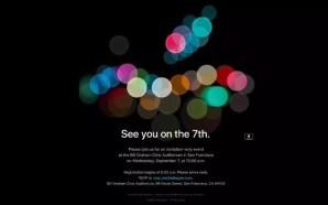 Η Apple διοργανώνει νέα εκδήλωση για το iPhone 7 στις…