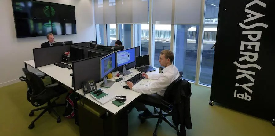 Kaspersky Lab - analyst at work