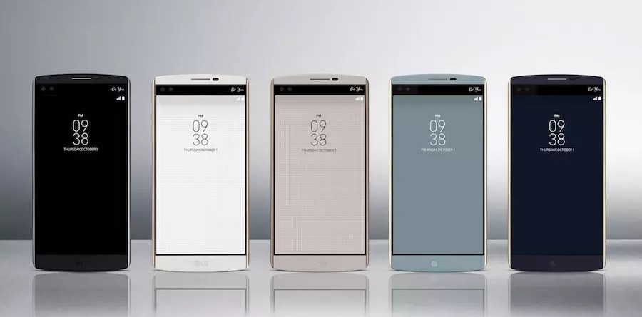Το περσινό μοντέλο, LG V10.