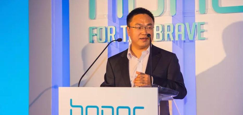 O κύριος Tony Bao (Jianlin), Managing Director της Huawei στην Ελλάδα