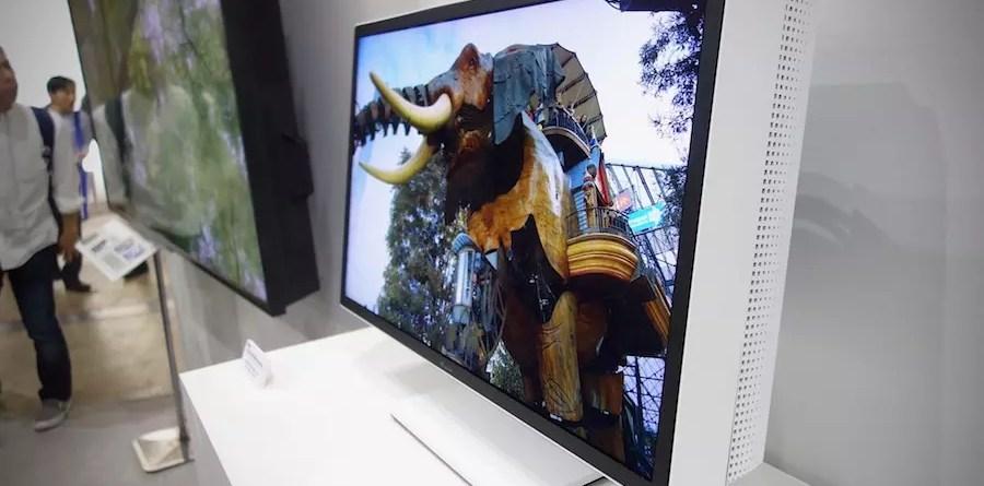Sharp 27in 8K HDR monitor