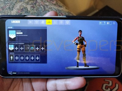 Exclusive: Fortnite Mobile on Android gameplay before Galaxy Note 9 launch