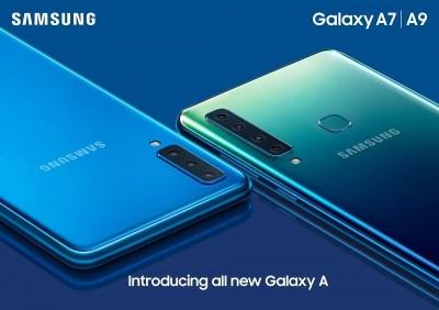 Samsung Galaxy A9 (2018) announced with Quad Rear Cameras