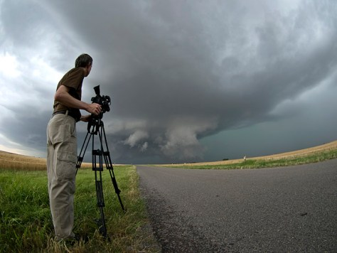 Shooting a Supercell Thunderstorm
