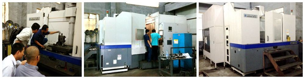 horizontal machining centers 2 sets-OKUMA-BY JC MAR-630H in xdl machinery's foundry partner