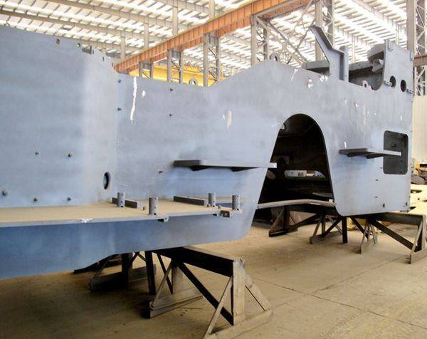 steel fabrication for heavy loaders in China