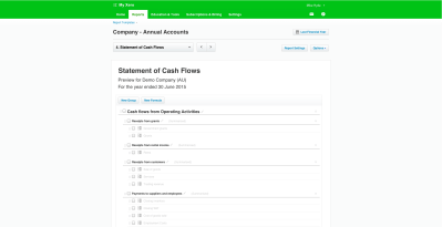 Accountants Tauranga | Statement of Cash Flows now available in NZ, AU and ROW