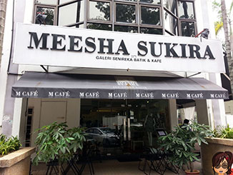 M Café meesha-sukira