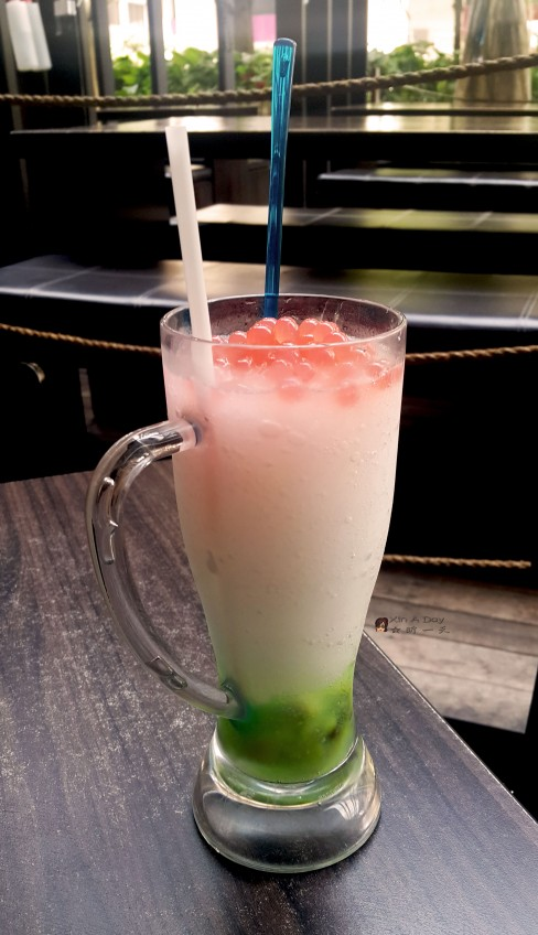 白雪皑皑 Icey Soursop Blended with Popping Jelly