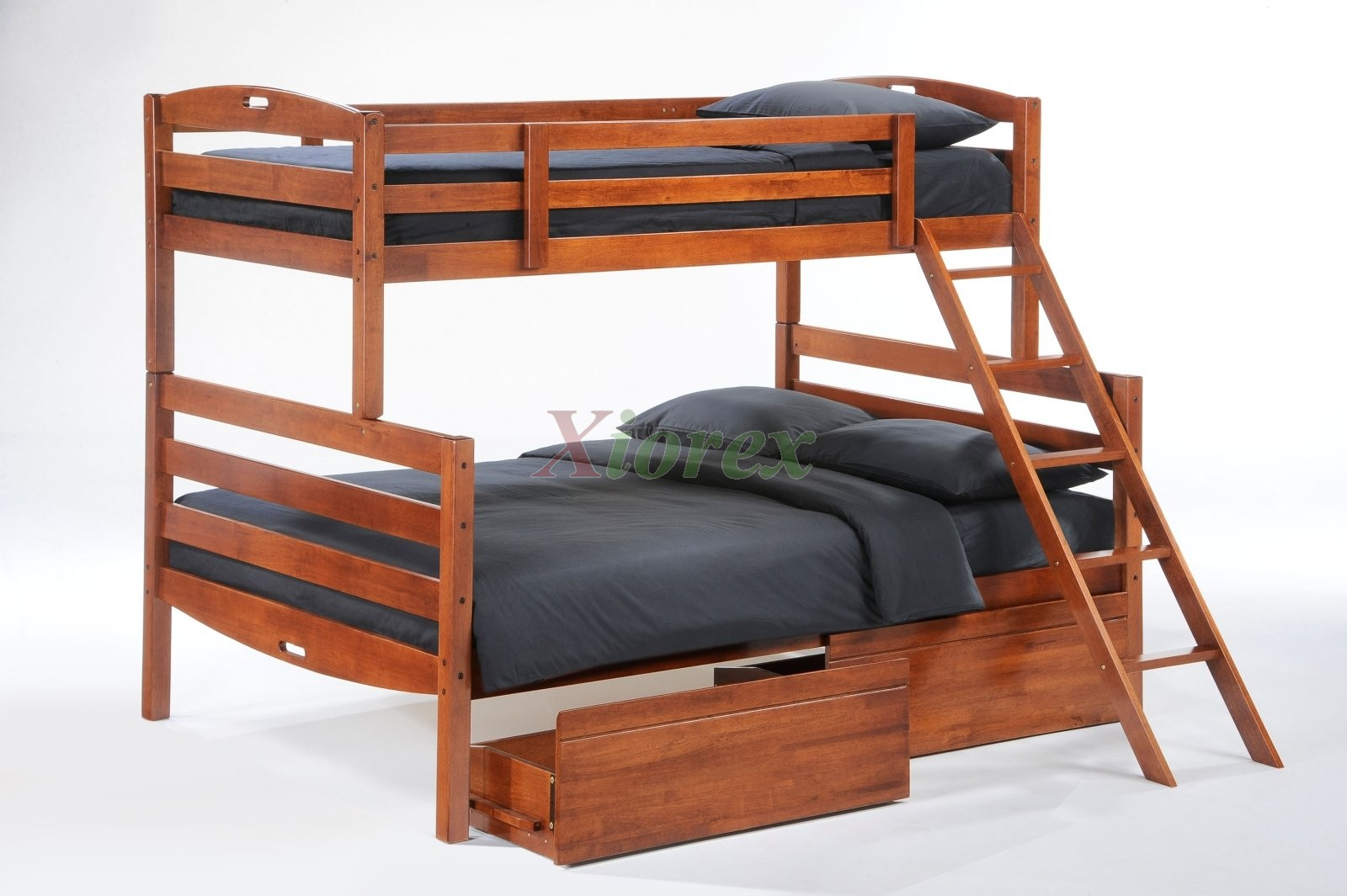 Genuine Twin Full Cherry Bunk Bed W Drawers Day Sesame Bunk Bed Sesame Bunk Bed Set Twin Twin Bunk Bed Twin Full Bunk Bed Night Drawers Plans Bed Drawers Twin houzz-03 Bed With Drawers
