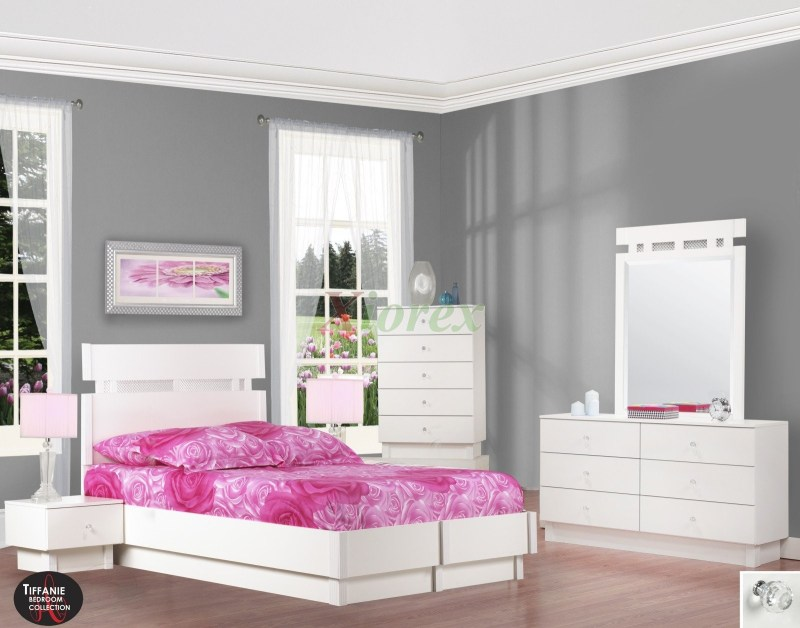 Large Of White Platform Bed