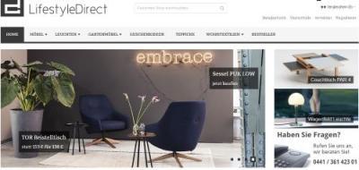 Lifestyledirect-Onlineshop für Designermöbel - Design Möbel
