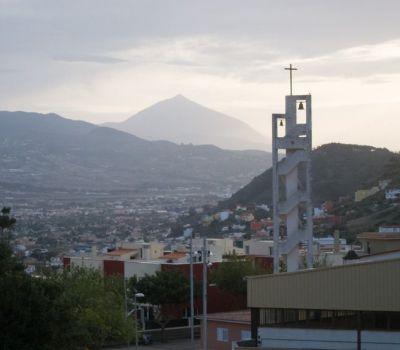 Vista desde Las Mercedes y La Cañada de La Laguna