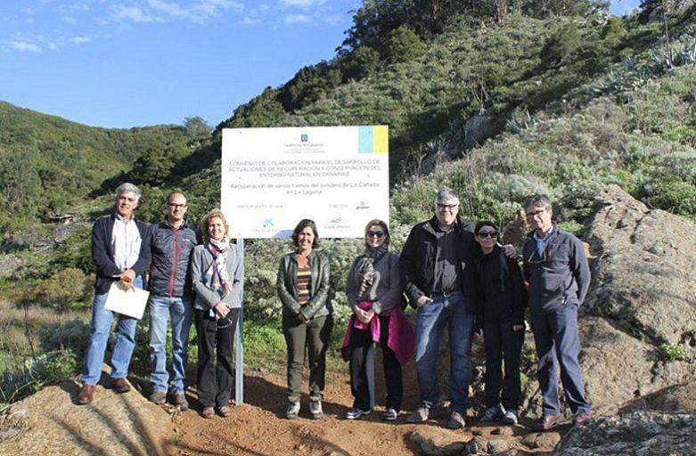 Rehabilitación del tramo Las Vueltas Blancas de La Cañada de La Laguna