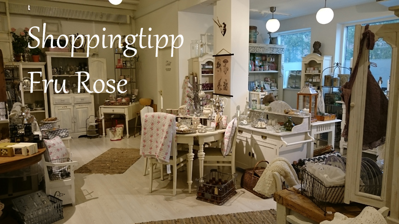 Shoppingtipp: Fru Rose in Roskilde
