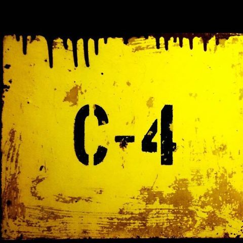C-4 20 meters below