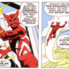 Never change, Sunfire. (X-Men #94)
