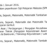 Permohonan Matrikulasi Online KPM 2015/2016 Telah dibuka