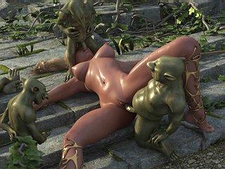 slime girl porn