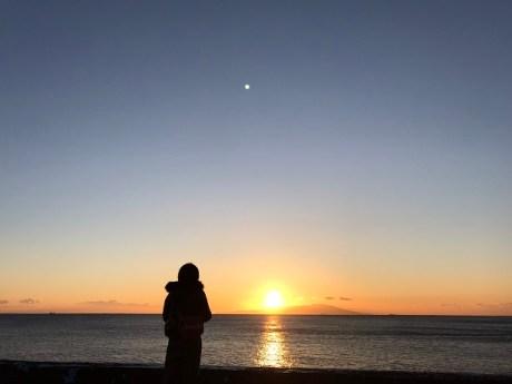 大川への日の出ツアー