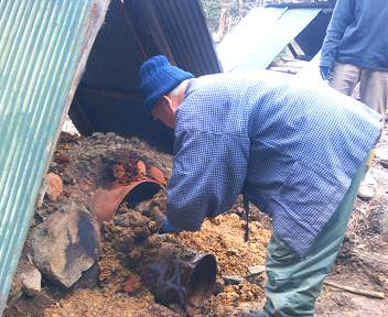 竹炭作り5