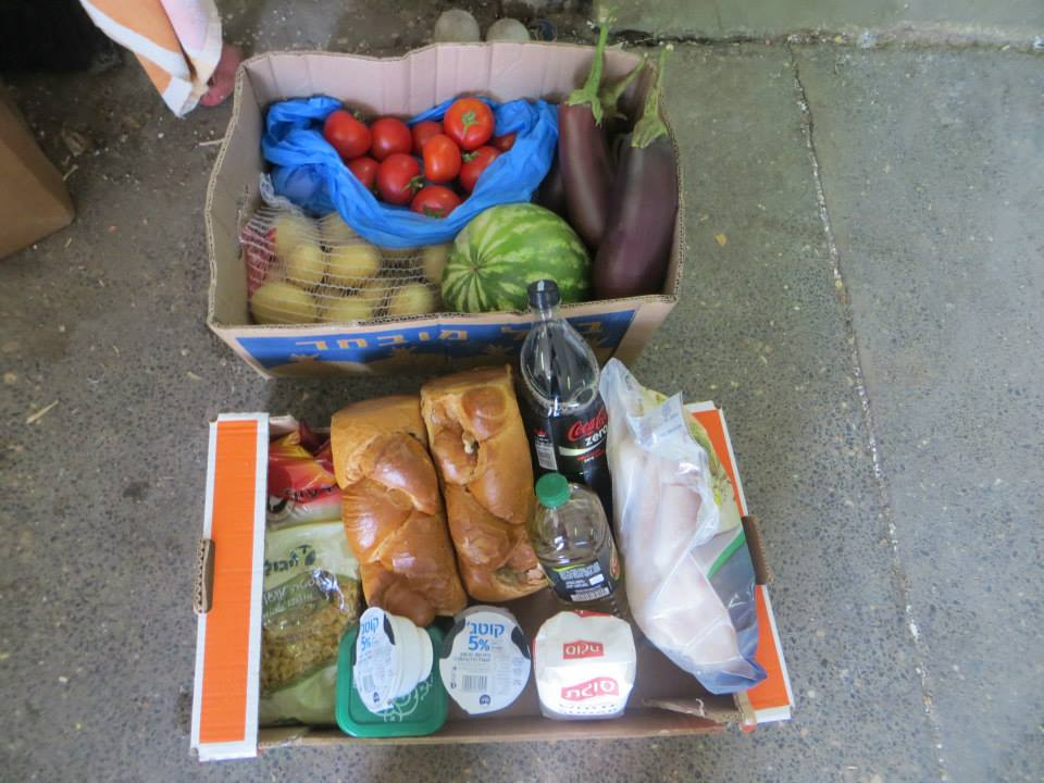 A basket for a hungry family