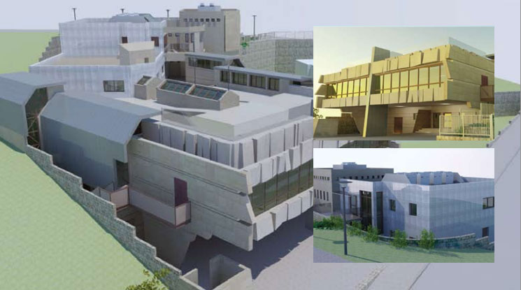 Yad Ezra V'Shulamit's beautiful new building will be an oasis for thousands of impoverished Jewish people in Tzefat.