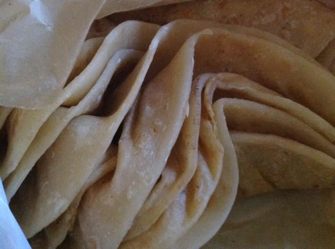 Delicious Dahl Puri Roti Skins