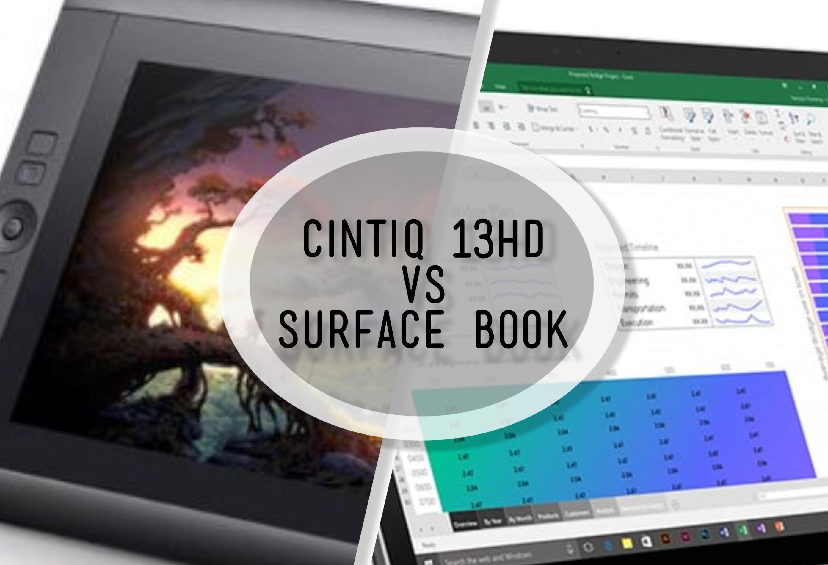 Cushty Surface Book Vs Wacom Cintiq A Viable Stuff Wacom Cintiq 13hd Driver Mac Wacom Cintiq 13hd Tablet Driver Is Not Responding dpreview Wacom Cintiq 13hd Driver