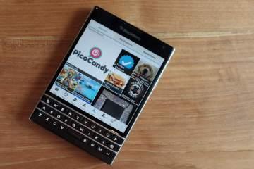 blackberry passport bbm channel