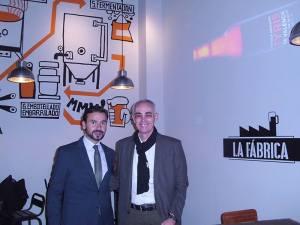 Juan Fernandez en inauguracion de Tyris