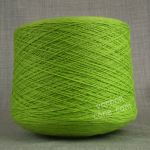 natural fantasy extrageelong geelong merino wool pure italian lime pistachio green argon 3 4 ply knitting yarn on cone