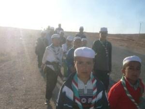 """Caravan of """"Hope"""" walking 70 km"""