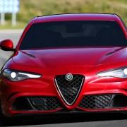Alfa Romeo Giulia Red