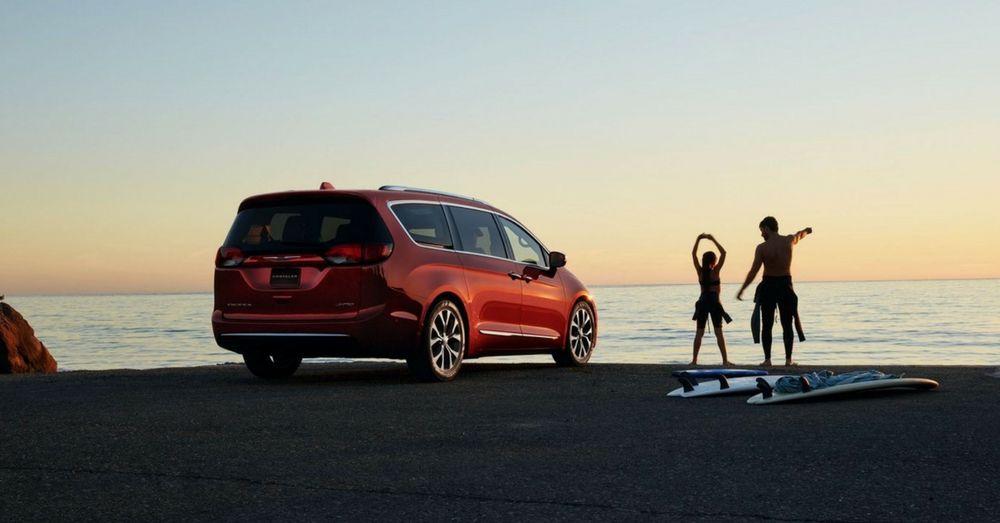2018 Chrysler Pacifica: The Minivan Reinvention
