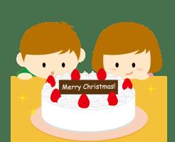 クリスマスケーキ イラスト