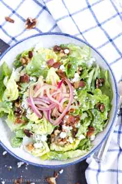 Remarkable Pickled Red Bacon Sourn California Blue Pickled Red Onions Macaronigrill Bib Blue Salad Blue Cheese Macaroni Grill Locations Pa Macaroni Grill Locations Bib Blue Salad