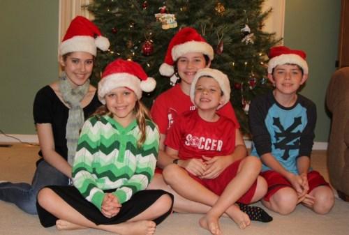 santa hat photo 2012