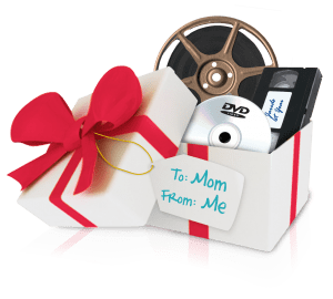 YesVideo DVDs make a special holiday gift