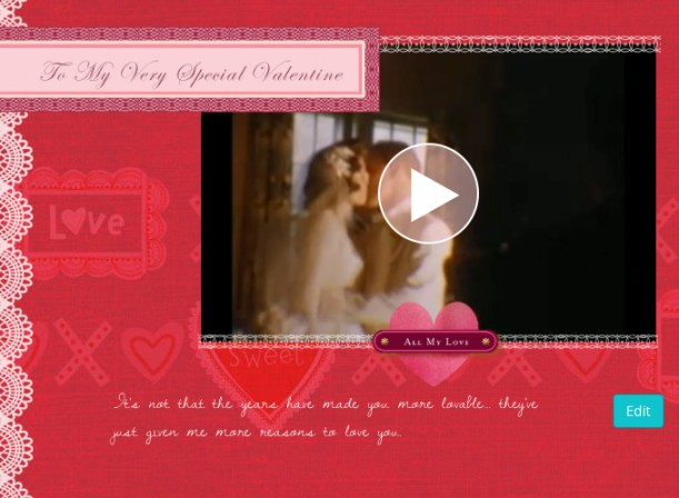 Hallmark YesVideo Valentines - Love Greeting