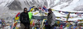 Glen Young at Everest Base Camp