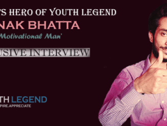 Saunak Bhatta: The Motivational Man, Nepalese Youth, Months Hero