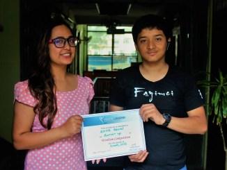 Kritik Rawal- Wordism Competition Runner Up