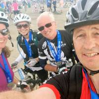 Keith's on his bike to raise funds for YMCA Norfolk