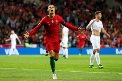 שלושער גדול לרונאלדו, פורטוגל בגמר ליגת האומות