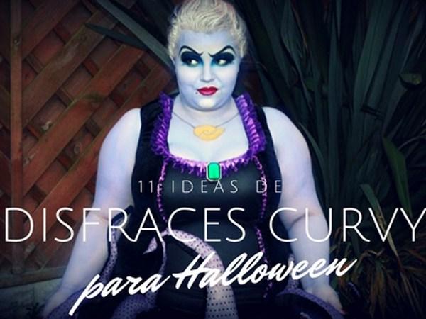 11 ideas de disfraces curvy para Halloween